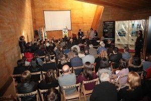 La presentació de la 53a Fira de l'Oli i les Garrigues al Conjunt Rupestre del Cogul