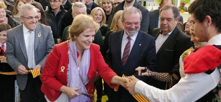 """Pilar Rahola: """"L'excel·lència de l'oli de les Garrigues representa els valors del país"""""""