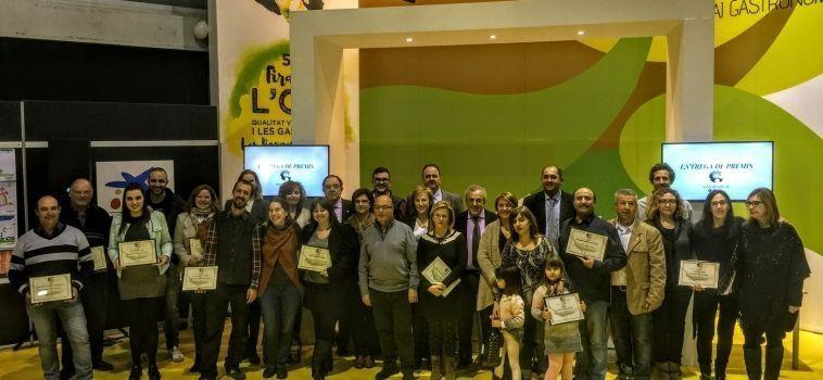 La Fira de l'Oli Qualitat Verge Extra i les Garrigues premia a les millor iniciatives comercials, industrials i turístiques