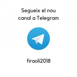 Canal de Telegram de la Fira de l'Oli 2018